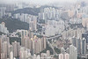 Tsz Wan Shan (view from Lion Rock Country Park), New Territories, Hong Kong, China.