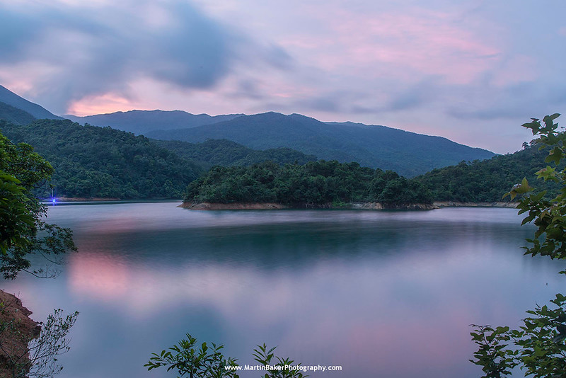 Shing Mun Reservoir, New Territories, Hong Kong, China.