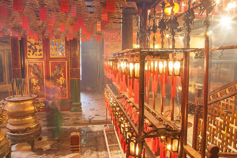 Man Mo Temple, Sheung Wan, Hong Kong Island, Hong Kong, China.