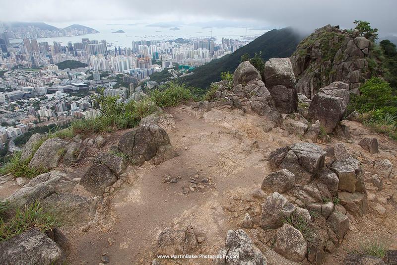 Lion Rock Country Park, New Territories, Hong Kong, China.