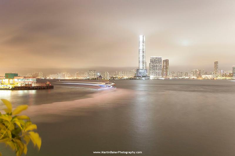 Tsim Sha Tsui (view from Central) , Hong Kong, China.