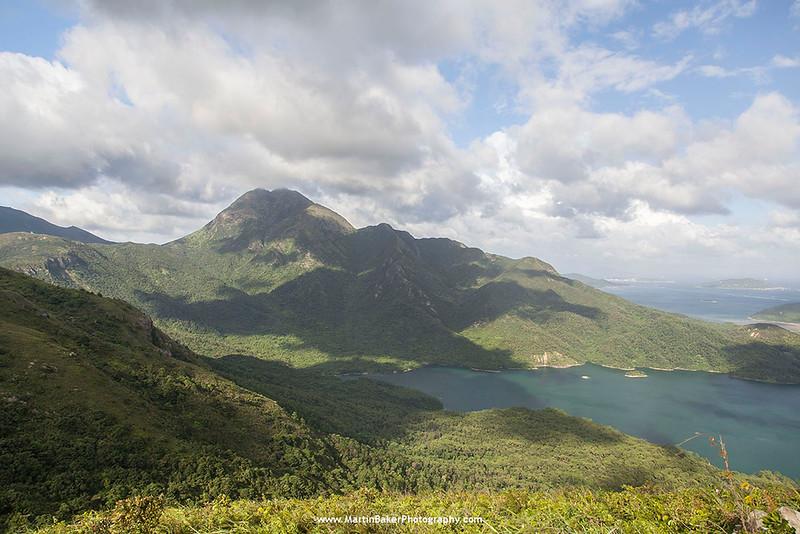 Lantau North Country Park, Lantau Peak and Shek Pik Reservoir, Lantau Island, Hong Kong, China.