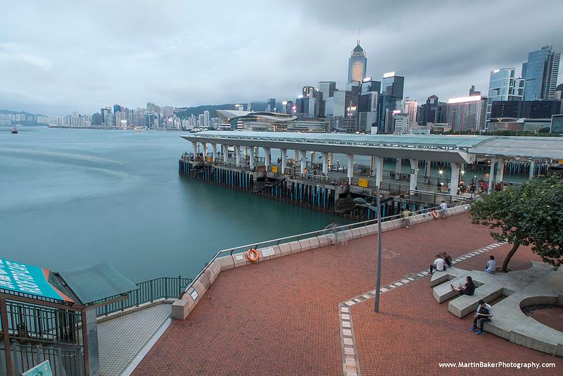Central Pier, Central and Wan Chai, Hong Kong Island, Hong Kong, China.
