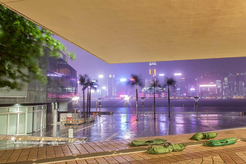 Tsim Sha Tsui (view to Wan Chai), Hong Kong, China.