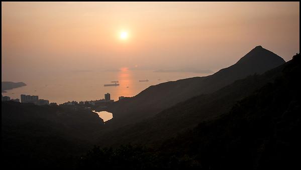 Sunset from Victoria Peak