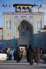 Shiraz, Iran - February, 2008:Entance to the Mausoleum of Shah-E Cheragh in Shiraz, Iran.  (Photo by Christopher Herwig)