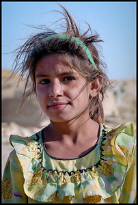 Girl in village, Jaisalmer