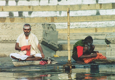 Festival day, Ganges, Varanasi