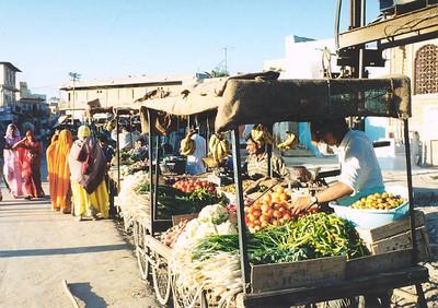 Fruit market, Jaisalmer