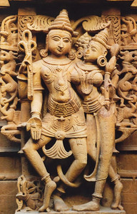 Jain temple carvings, Jaisalmer
