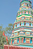 Hindu Temple on the way to Pench National Park from Satpura National Park