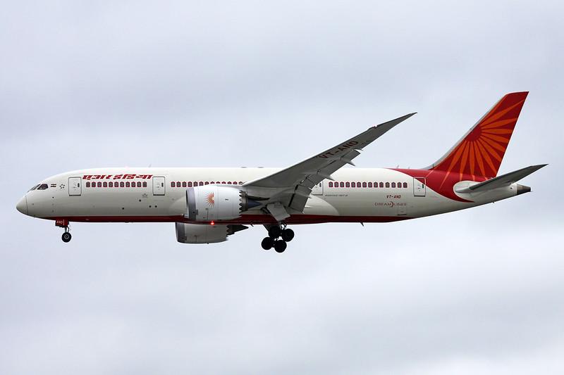 """VT-AND Boeing 787-8 """"Air India"""" c/n 36278 Heathrow/EGLL/LHR 08-07-16"""