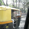 An auto-rickshaw in Bangalore, India.