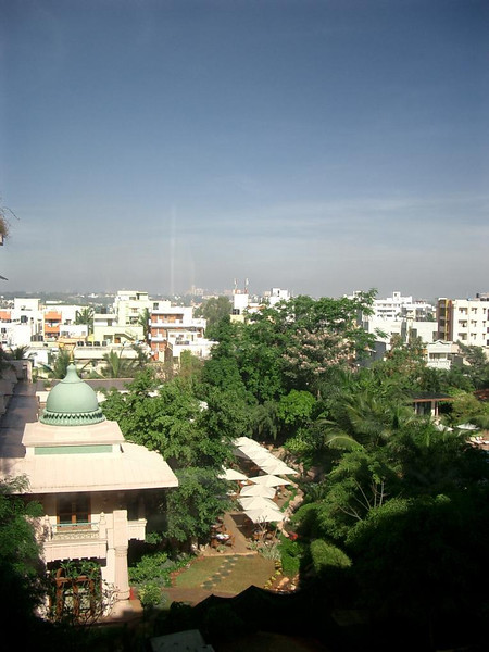 A view of Bangalore.