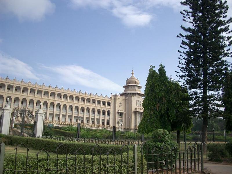 Vidhana Soudha in Bangalore, India.