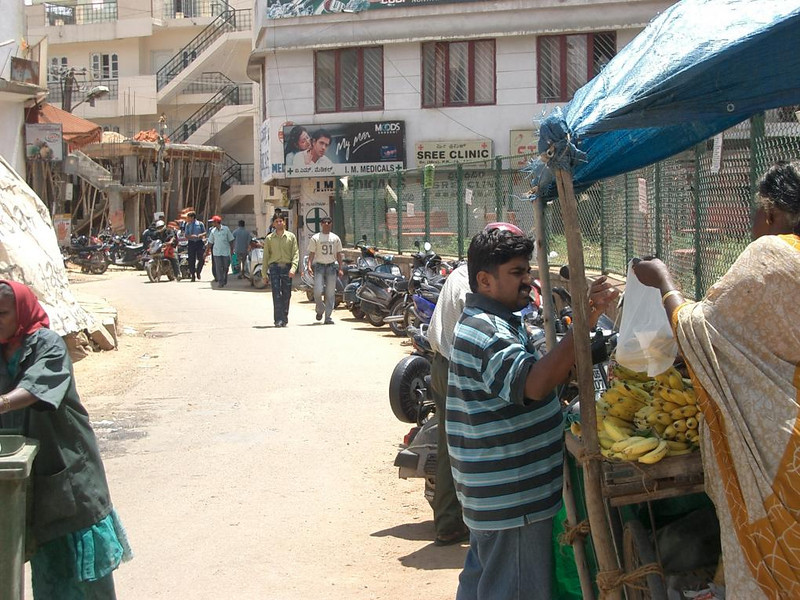 Fruit for sale in Bangalore, India.