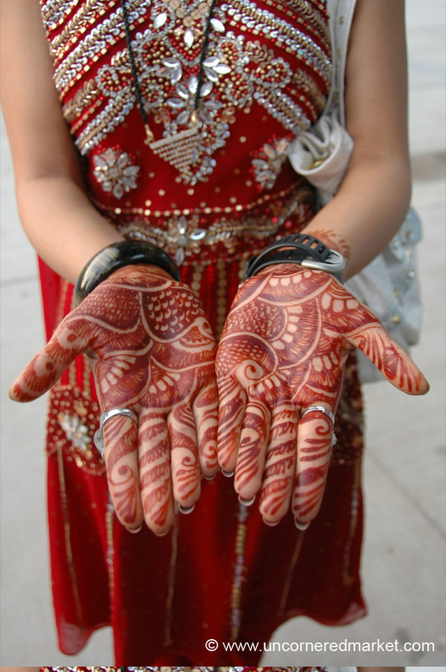 Beautiful Henna Hands - Chandigarh, India