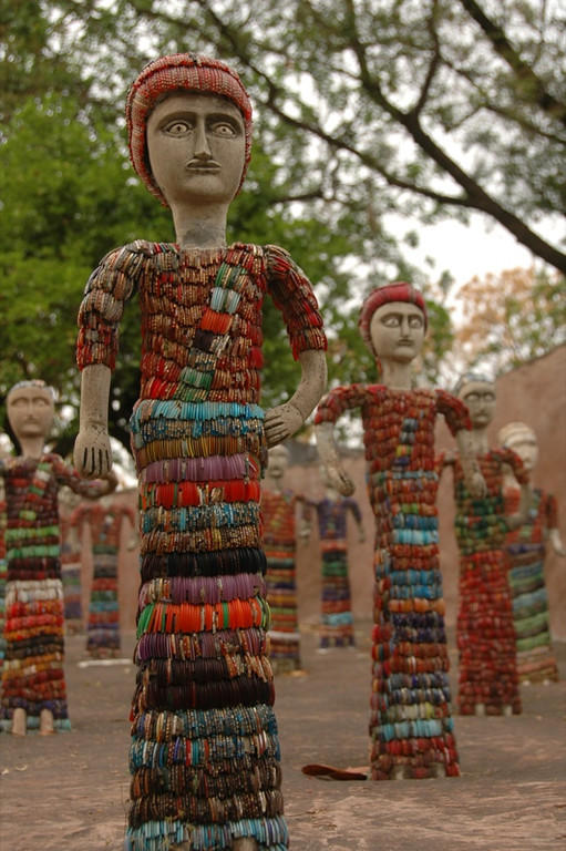 Nek Chand's Rock Garden - Chandigarh, India