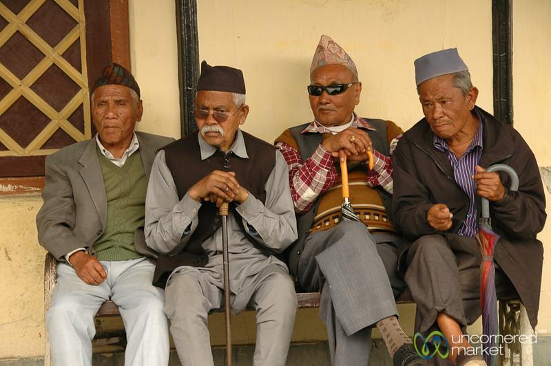 Tough Crowd of Guys - West Bengal, India