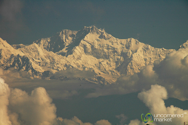 View of Kanchenjunga Mountain - Darjeeling, India