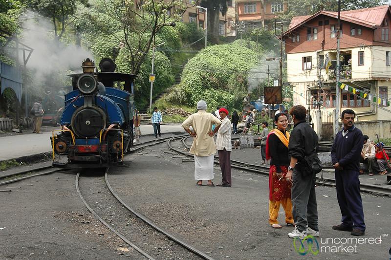 Toy Train in Darjeeling, India