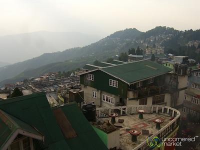 View of Darjeeling - West Bengal, India
