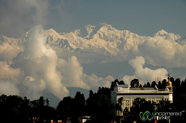 View from Darjeeling of the Mountains