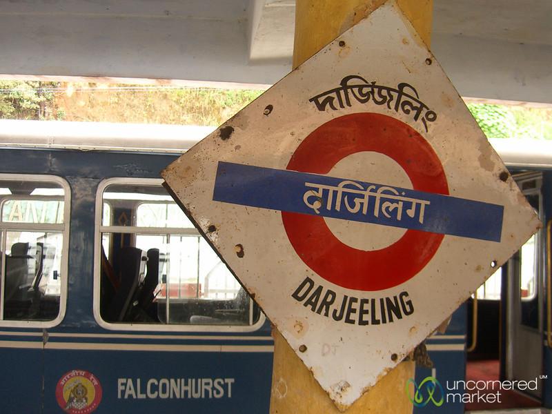Darjeeling Train Station - West Bengal, India