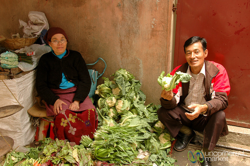 Cauliflower Season - Darjeeling, India