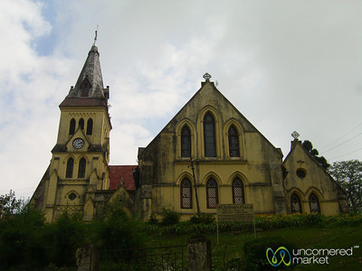 Church in Darjeeling - India