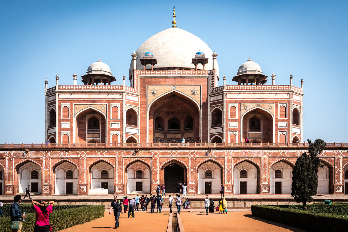 UNESCO World Heritage Site #302 - Humayun's Tomb