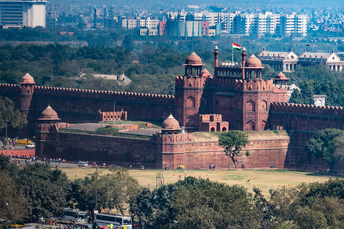 UNESCO World Heritage Site #300 - Red Fort Complex