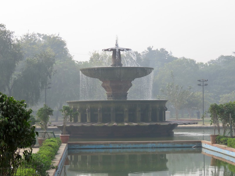 fountain at India Gate