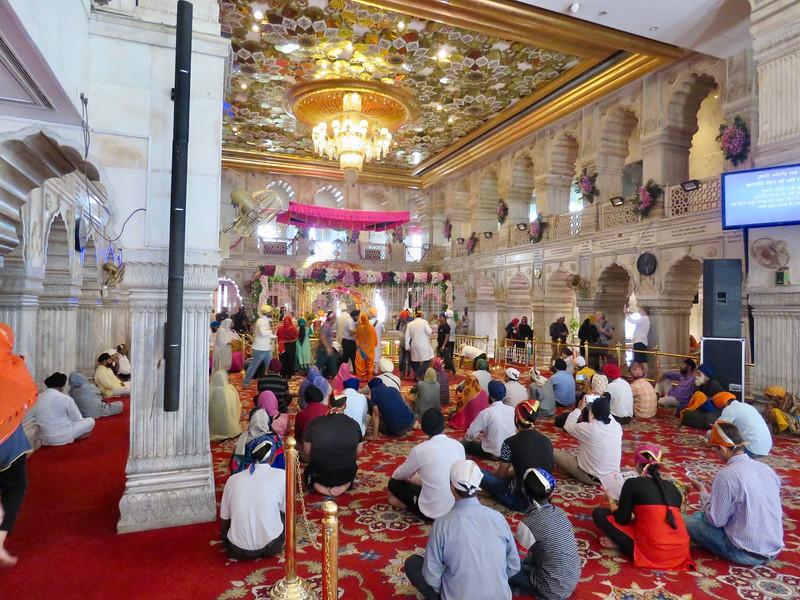 Sikh Temple - Gurdwara Sis Ganj Sahib ji