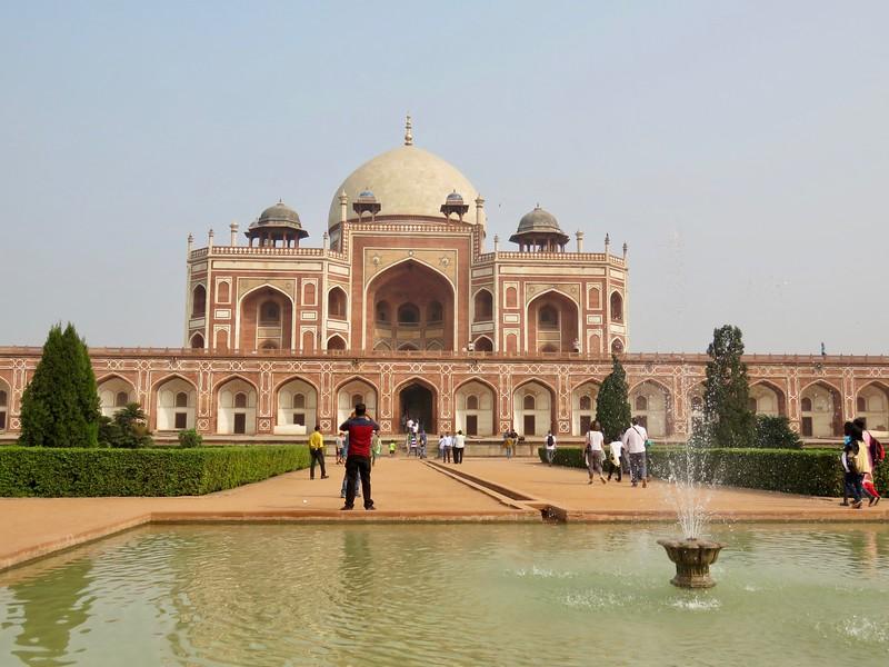 Mughal Emperor Humayun's Tomb complex - Delhi, India