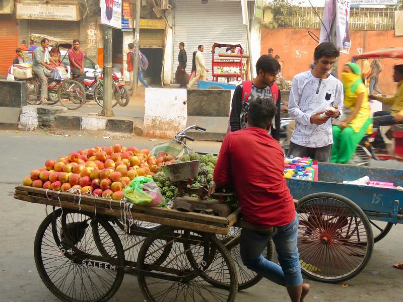 food cart Old Delhi