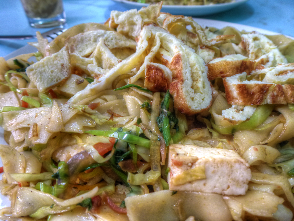tibetan nooodles tofu