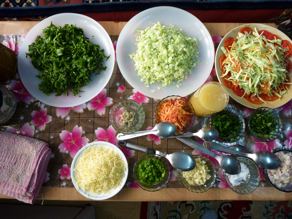 momo ingrediants