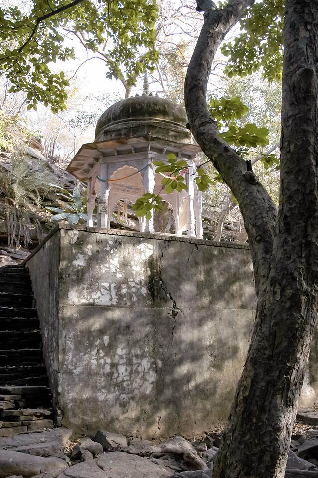 Temple at Chuaki gorge