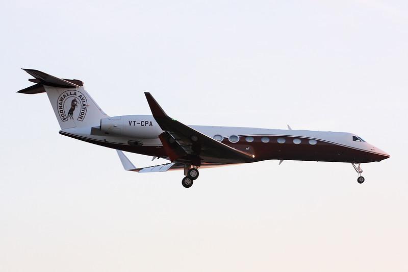 VT-CPA Gulfstream G550 c/n 5427 Paris-Le Bourget/LFPB/LBG 01-10-14