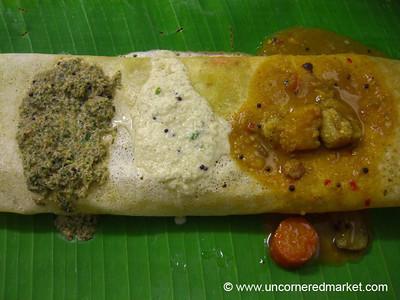 South Indian Food, Dosa - Penang, Malaysia