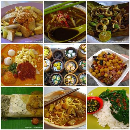 Malaysian Street Food Mosaic