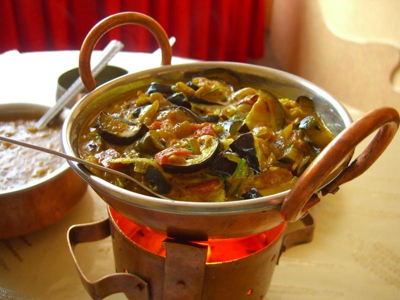 Indian Eggplant Dish - Dushanbe, Tajikistan