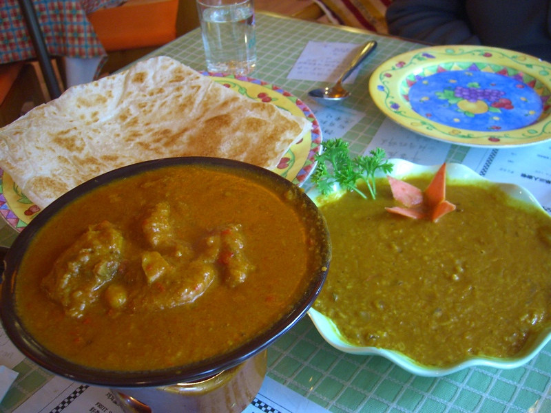 Indian Food in China - Xi'an, China