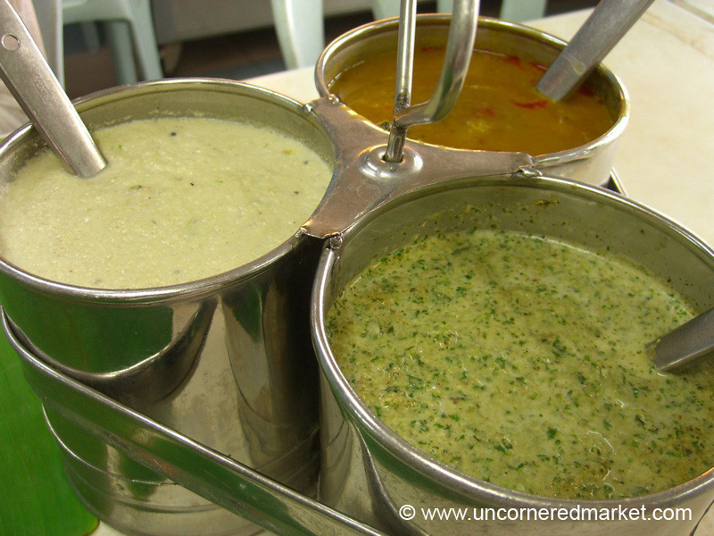 South Indian Food, Dosai Toppings - Penang, Malaysia