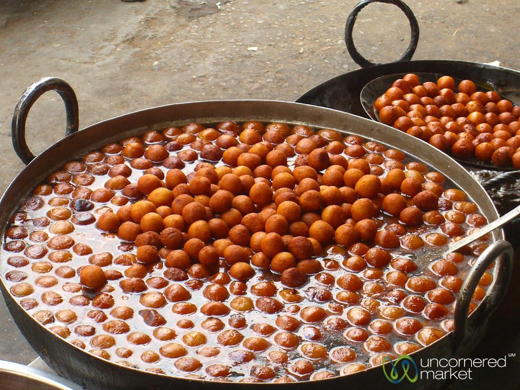 Galub Jamun Balls - Udaipur, India