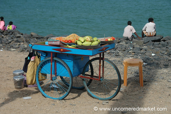 Channa Cart - Pondicherry, India