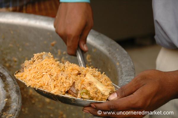 Biryani for Lunch - Chennai, India