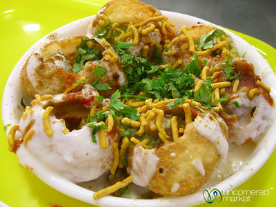Audrey's Favorite Snack - Dahi Puchka