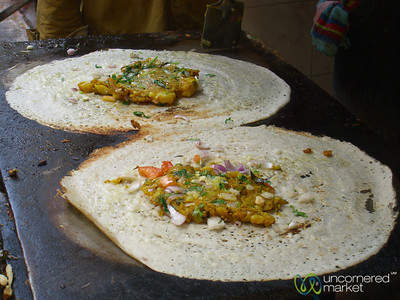 Indian Pancakes - Varanasi, India